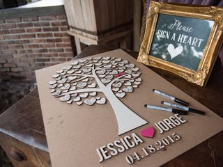The wedding of Jorge and Jessica 1
