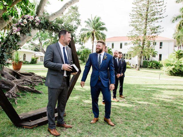 Blake and Courtney's Wedding in Bonita Springs, Florida 13
