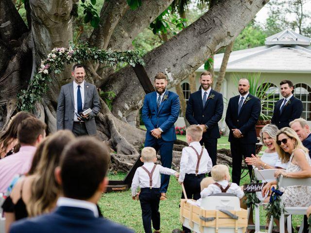 Blake and Courtney's Wedding in Bonita Springs, Florida 14