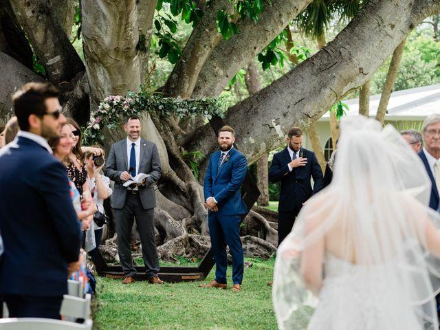 Blake and Courtney's Wedding in Bonita Springs, Florida 16