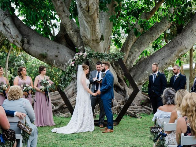 Blake and Courtney's Wedding in Bonita Springs, Florida 17