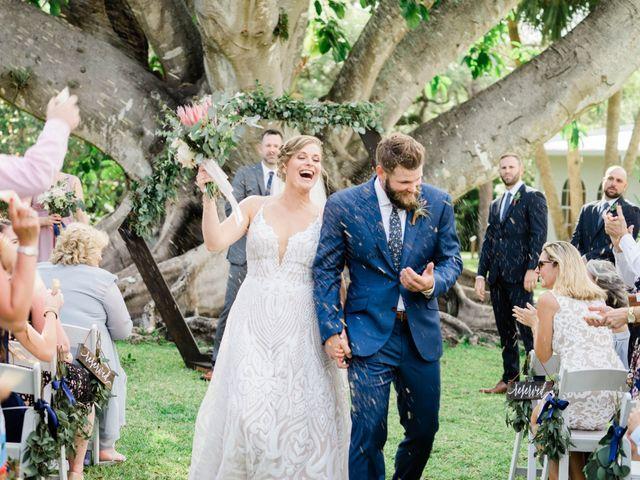 Blake and Courtney's Wedding in Bonita Springs, Florida 20