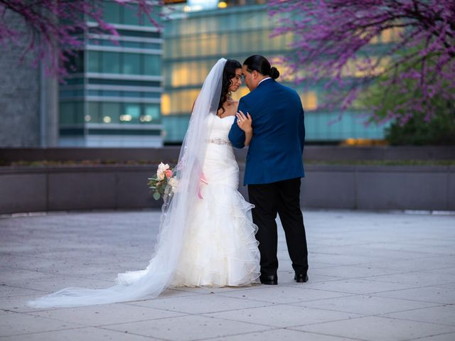 The wedding of Jesse and Vanessa