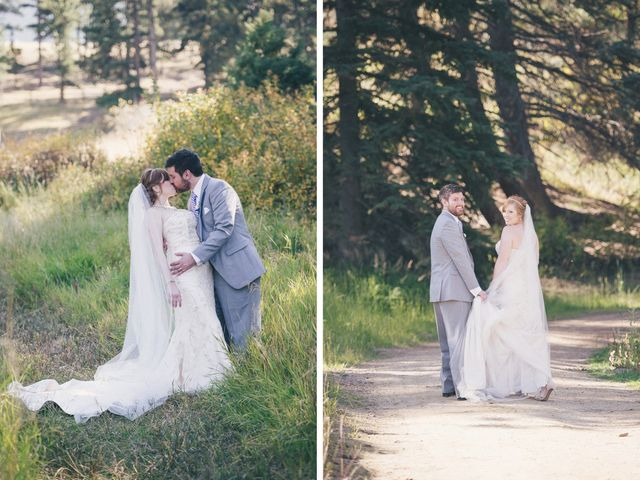 Zac and Kristin's Wedding in Estes Park, Colorado 1