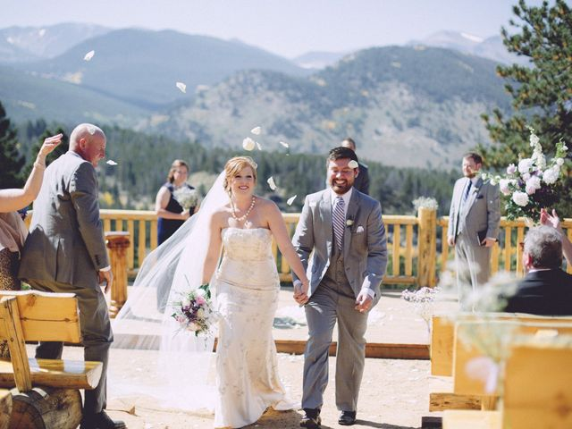 Zac and Kristin's Wedding in Estes Park, Colorado 5