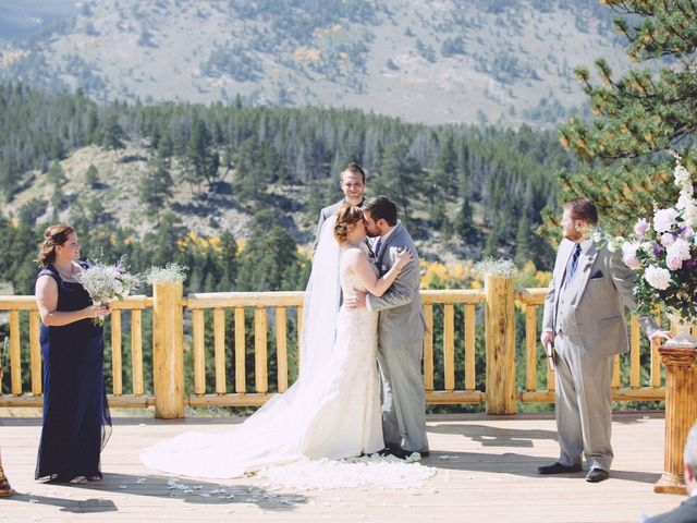 Zac and Kristin's Wedding in Estes Park, Colorado 6