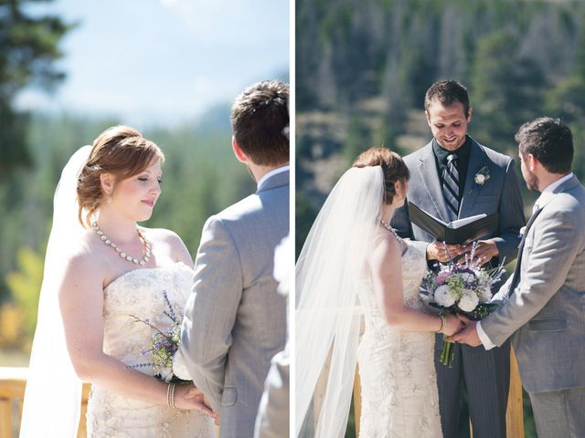 Zac and Kristin's Wedding in Estes Park, Colorado 8
