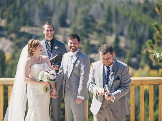 Zac and Kristin's Wedding in Estes Park, Colorado 9