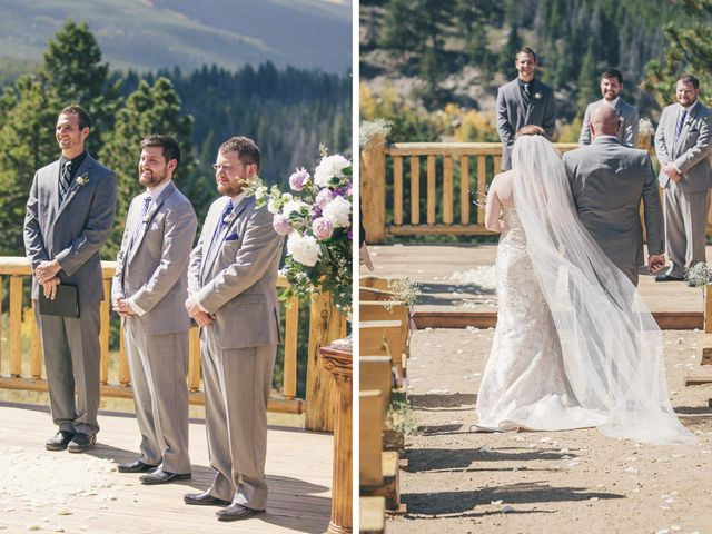 Zac and Kristin's Wedding in Estes Park, Colorado 10