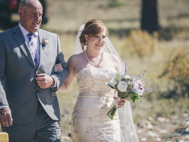 Zac and Kristin's Wedding in Estes Park, Colorado 11