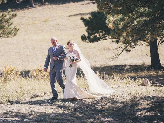 Zac and Kristin's Wedding in Estes Park, Colorado 12