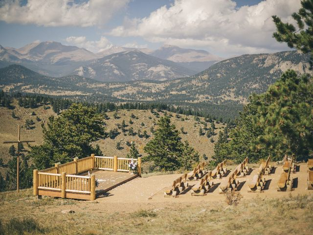 Zac and Kristin's Wedding in Estes Park, Colorado 22