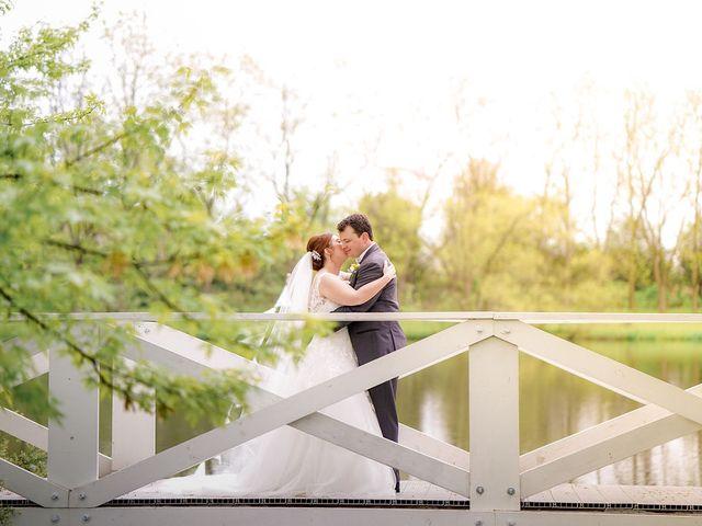 The wedding of Amy and Matt
