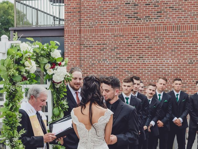 Sean and Kaila's Wedding in Saugerties, New York 34