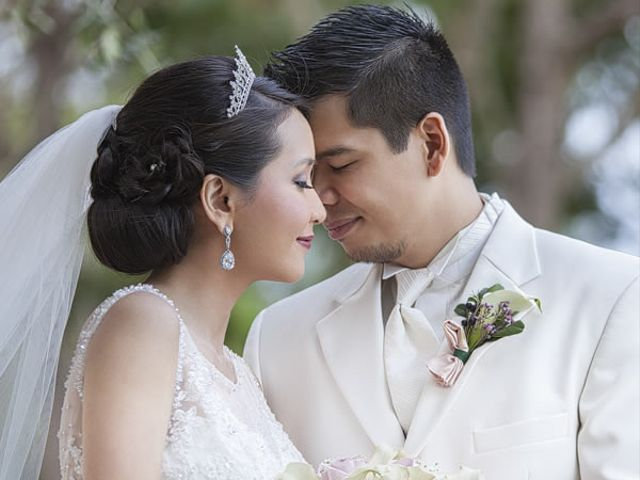 The wedding of John and Regina