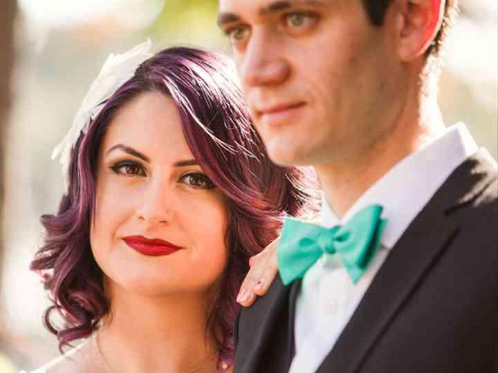 The wedding of Benjamin and Carolina