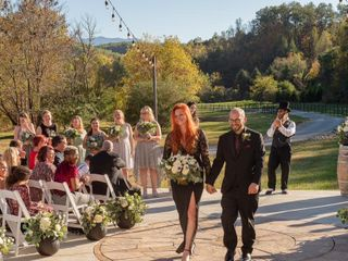 The wedding of Shanna and John