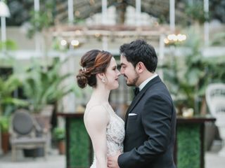 The wedding of Shelley and José