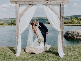 The wedding of Ciara and Trevor