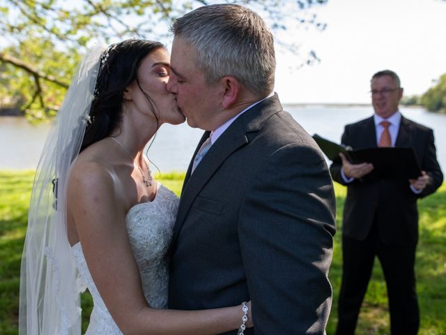 Sean and Rachel's Wedding in Ridge, Maryland 12