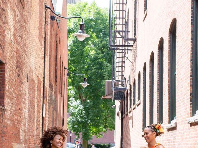 Brittney and Charlene's Wedding in Boston, Massachusetts 14