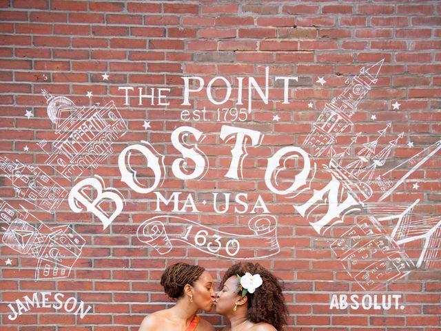Brittney and Charlene's Wedding in Boston, Massachusetts 1