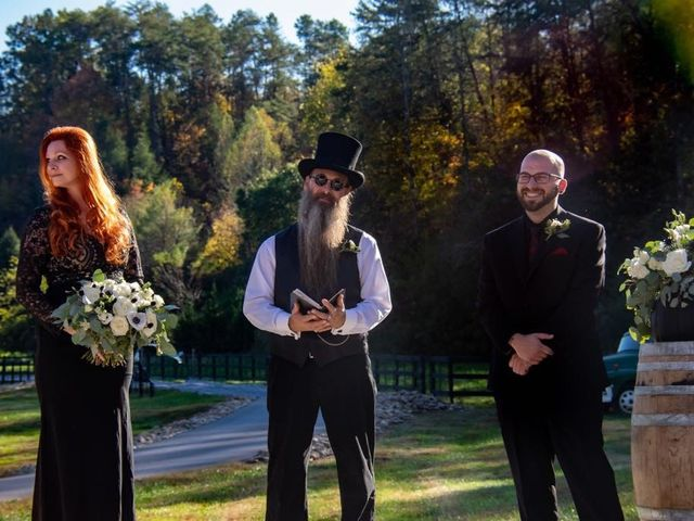 John  and Shanna's Wedding in Sevierville, Tennessee 4