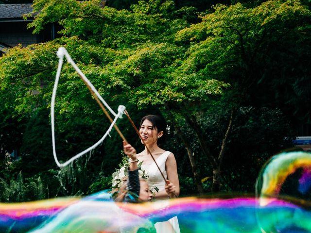 Asaki and Austin's Wedding in Seabeck, Washington 4