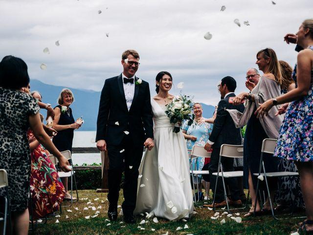 Asaki and Austin's Wedding in Seabeck, Washington 9