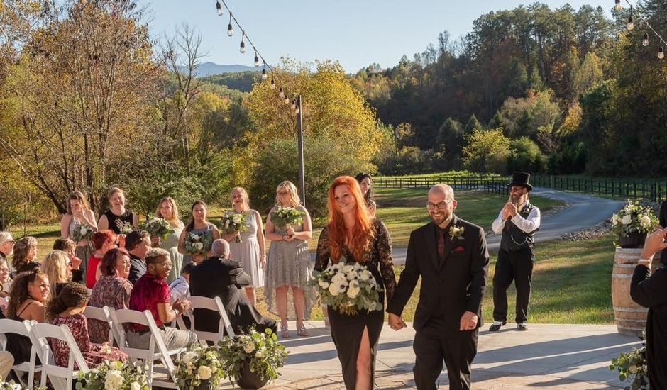 John  and Shanna's Wedding in Sevierville, Tennessee