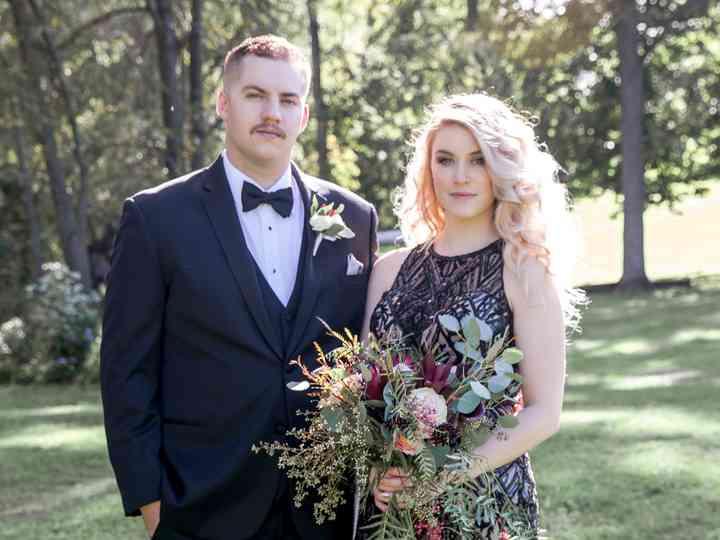 The wedding of Michal and Jordan