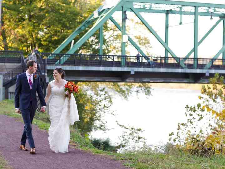 The wedding of Karen and Steve