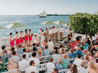 Emily and Patrick's Wedding in Key West, Florida 11