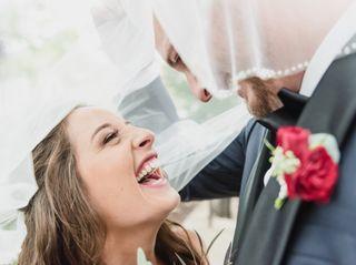 The wedding of Kristen and Brett