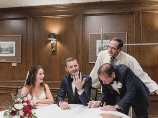 The wedding of Kristen and Brett 1
