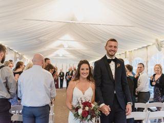 The wedding of Kristen and Brett 2