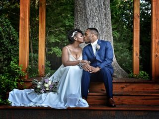 The wedding of Jamarcus and Jalonna