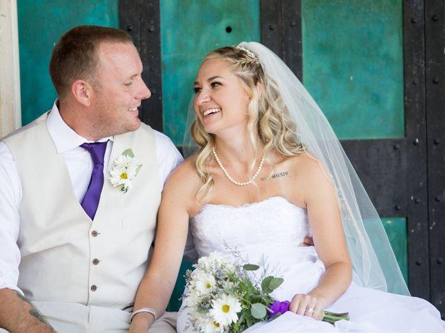 The wedding of Ashley and Jason