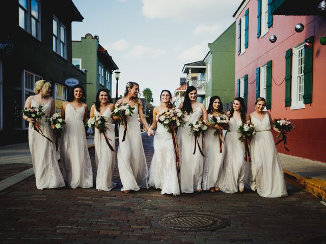 Chase and Taylor's Wedding in Saint Augustine, Florida 7