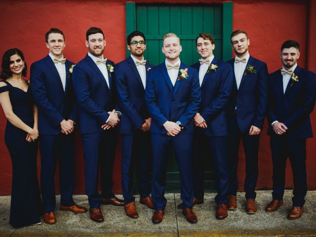 Chase and Taylor's Wedding in Saint Augustine, Florida 14