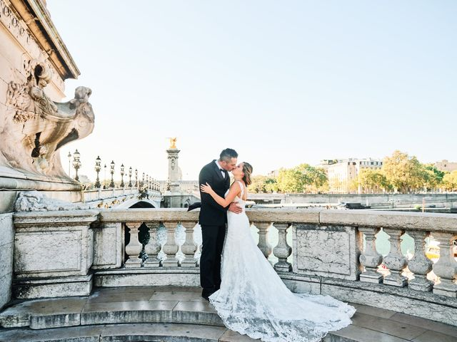 The wedding of Stephanie and Pedro