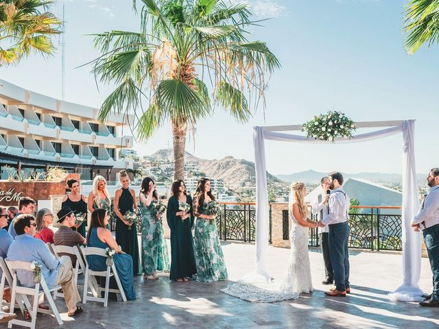 Chad and Hillary's Wedding in Cabo San Lucas, Mexico 16