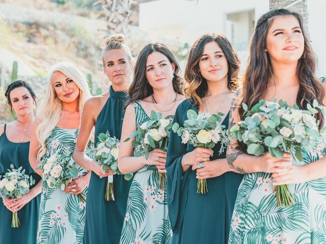 Chad and Hillary's Wedding in Cabo San Lucas, Mexico 17