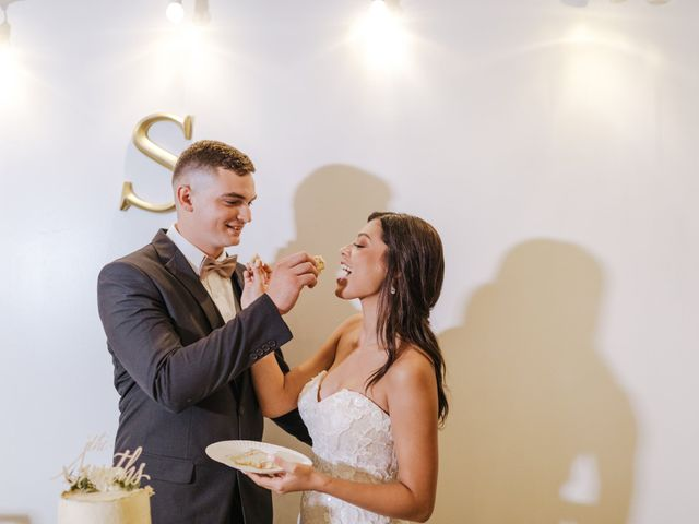 The wedding of Eralise and Weston