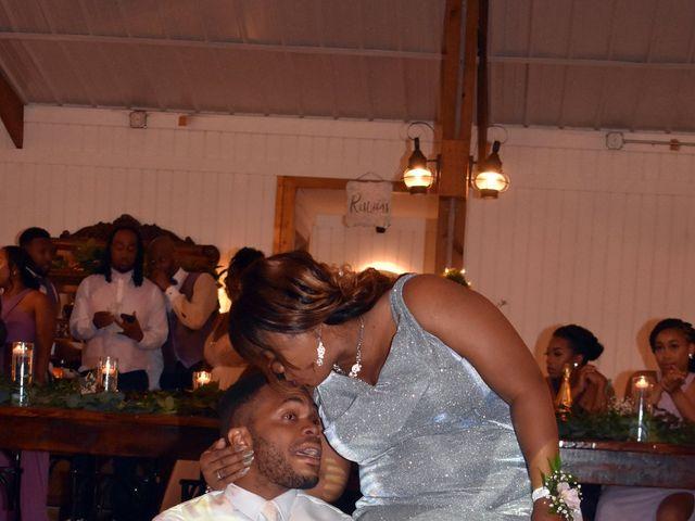 Jalonna and Jamarcus's Wedding in Gilbert, South Carolina 39