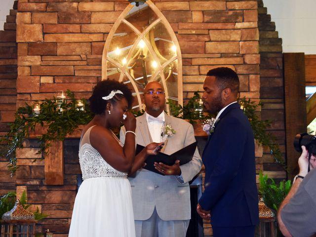 Jalonna and Jamarcus's Wedding in Gilbert, South Carolina 56