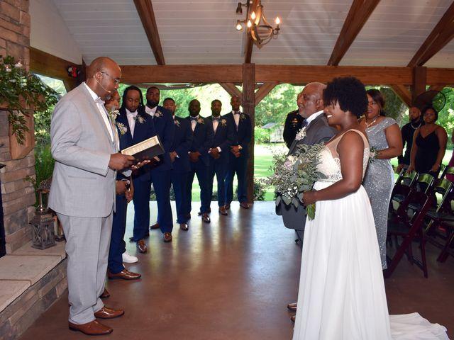 Jalonna and Jamarcus's Wedding in Gilbert, South Carolina 61