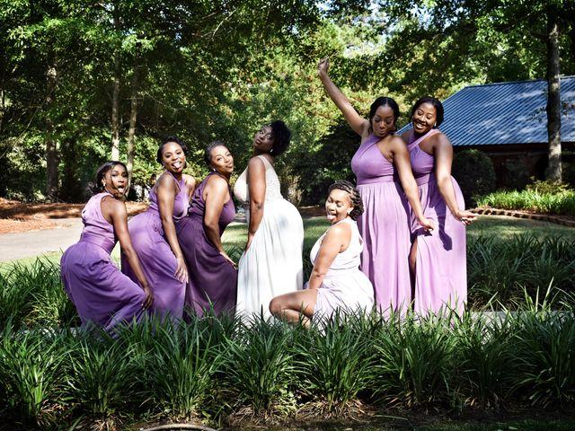 Jalonna and Jamarcus's Wedding in Gilbert, South Carolina 80