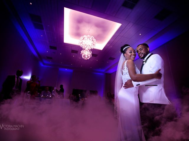 Devarge and Brittany's Wedding in Tamarac, Florida 5