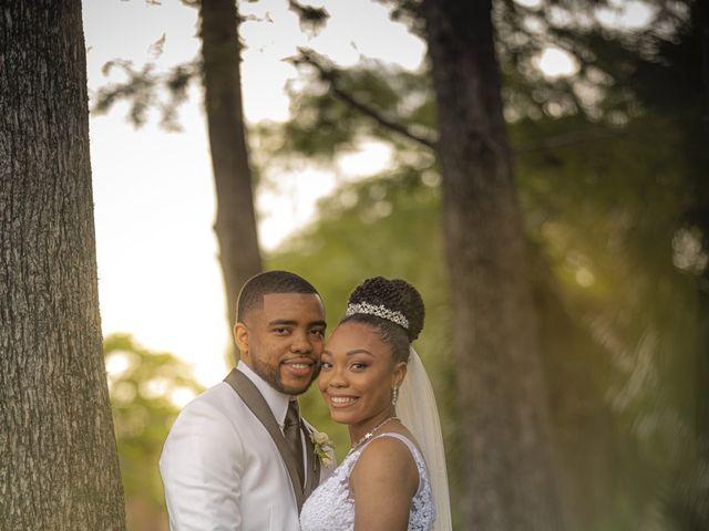 Devarge and Brittany's Wedding in Tamarac, Florida 7